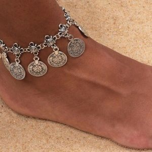 Jewelry - Silver or Gold Anklet Ankle Bracelet